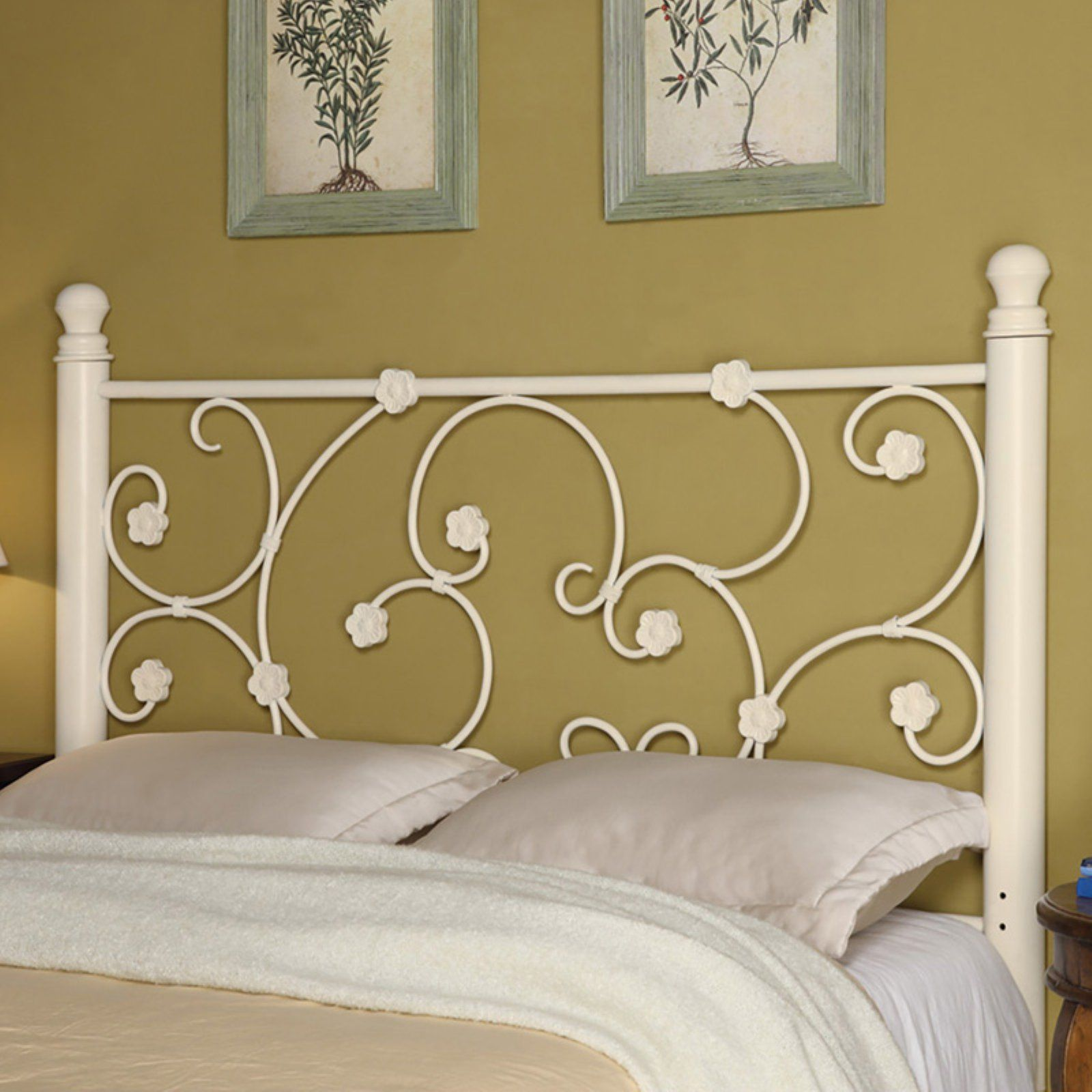 this twin bed offers a calming simplicity with gracious curves the