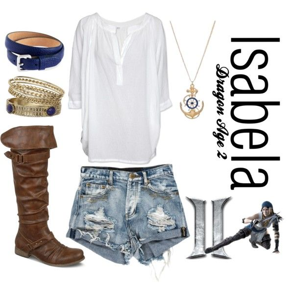 """""""Isabela (Dragon Age 2) Inspired"""" by kelbyraea on Polyvore"""