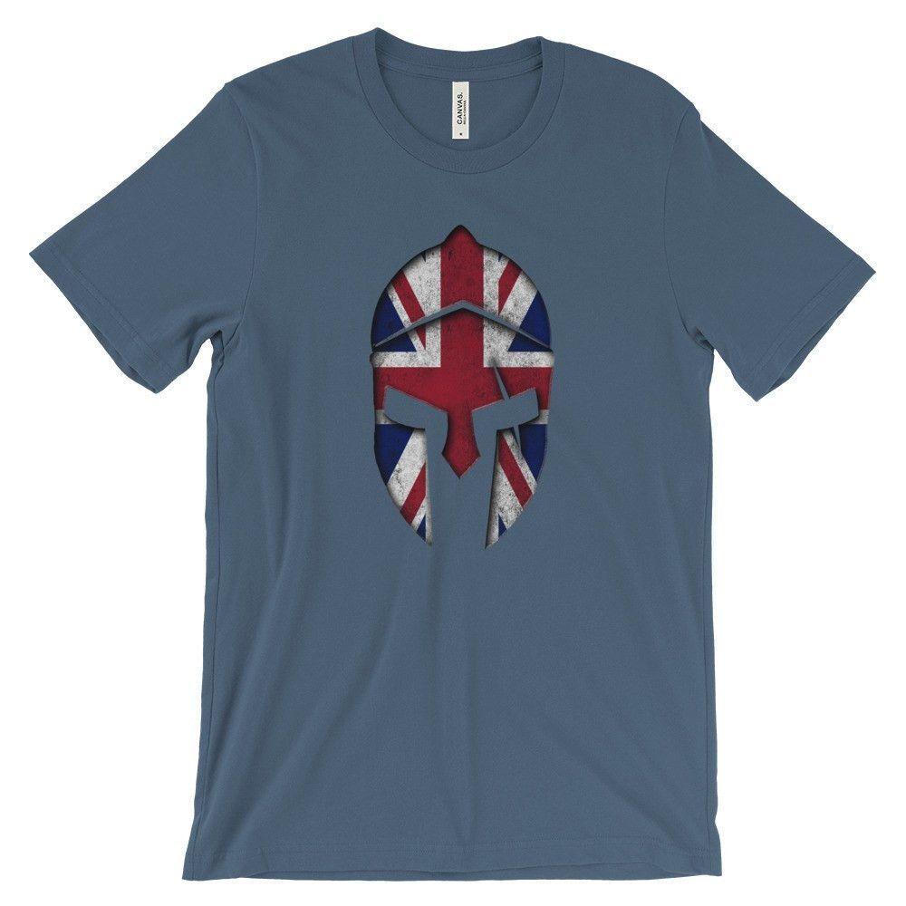 British Spartan Helmet T-Shirt