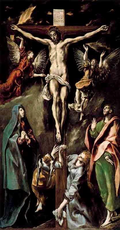 La Crucifixión, El Greco