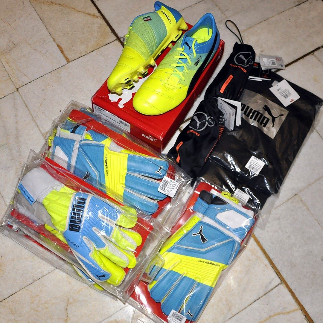 innovative design c9bc9 b2c10 Puma evoPOWER Shoes GK Gloves and Baselayers سفارش آقای سید مهدی رحمتی  دروازه بان تیم استقلال
