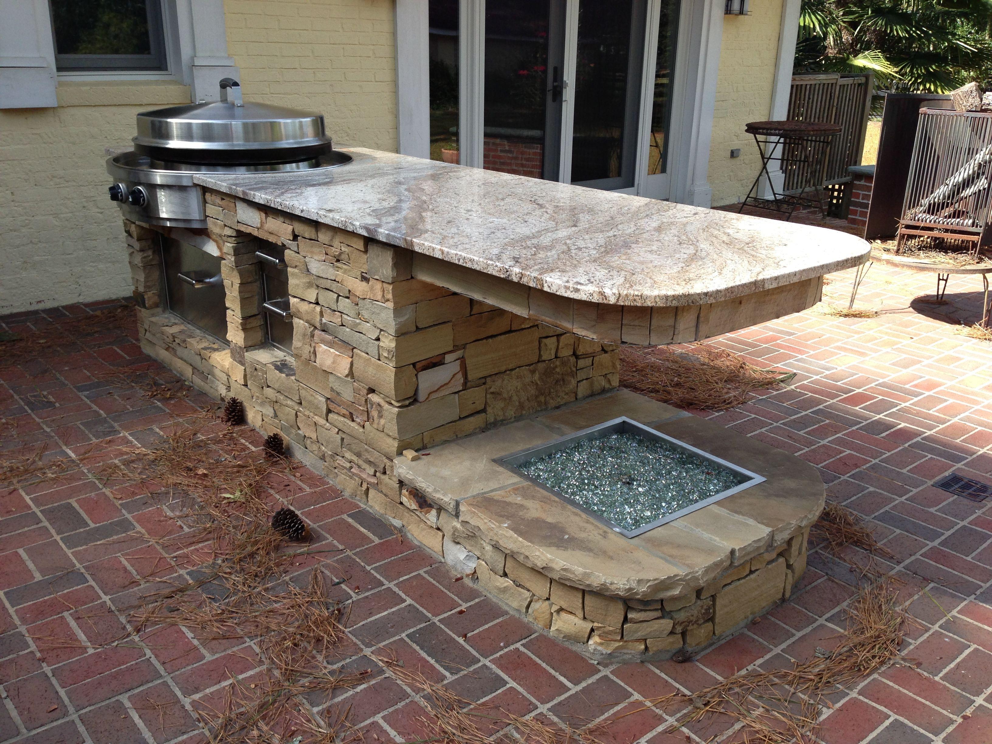 Small Outdoor Kitchen Island | http://jubiz.info | Pinterest
