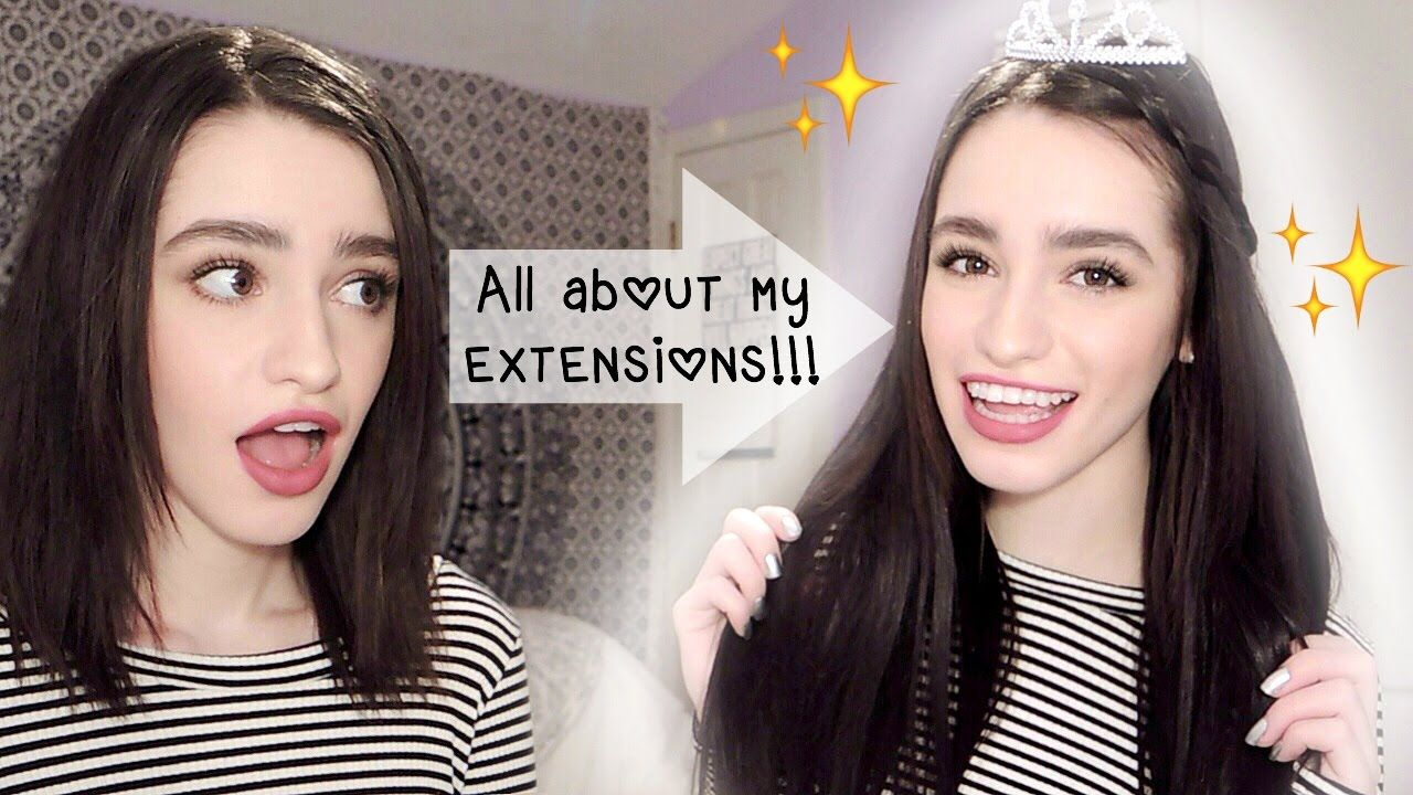 All About My Hidden Crown Hair Extensions Bystephienics Youtube