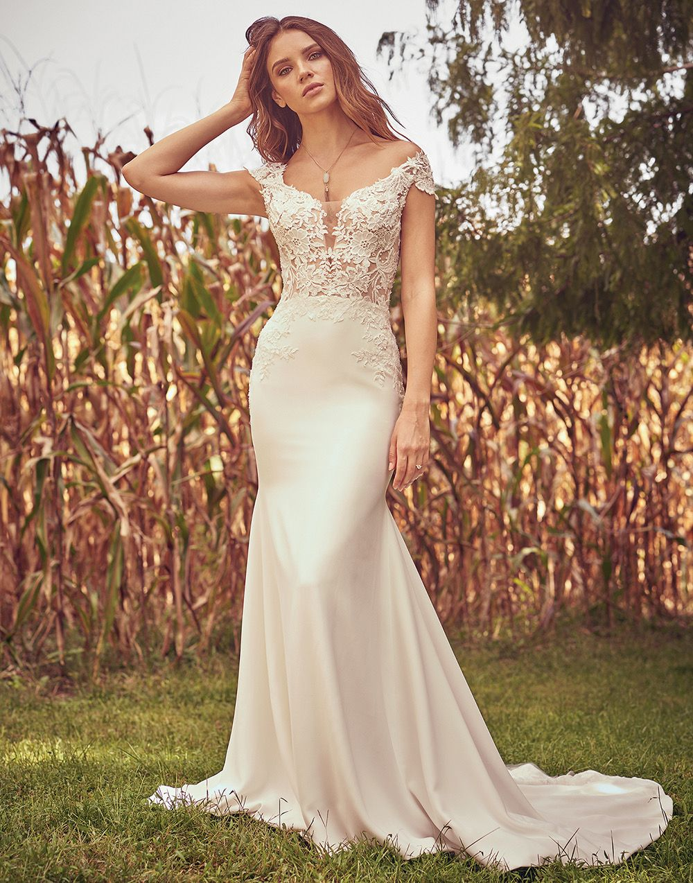 Lillian West Boho Chic And Romantic Wedding Gowns Lillian West Wedding Dress Boho Bride Dress Romantic Wedding Gown