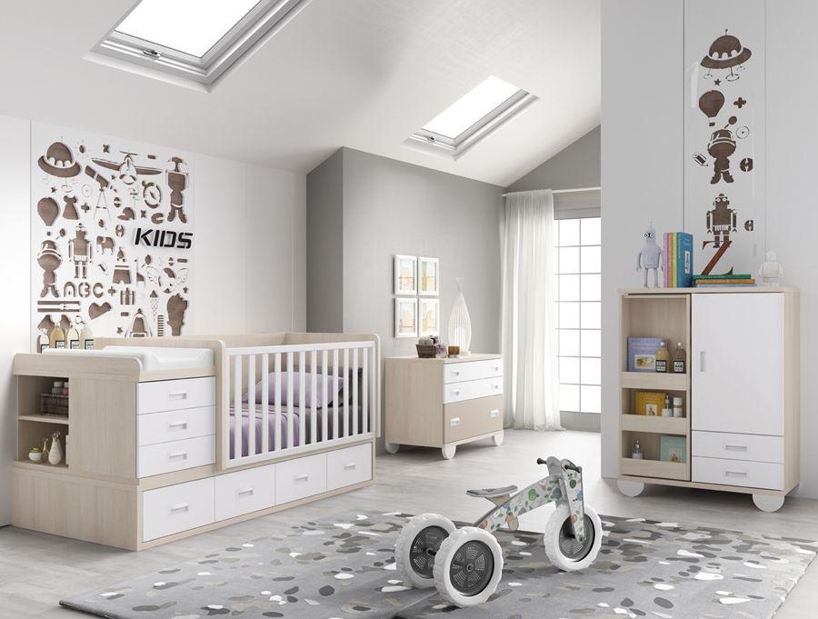 Pin de Eva Vidal en bebes | Pinterest | Muebles para bebés, Cama ...