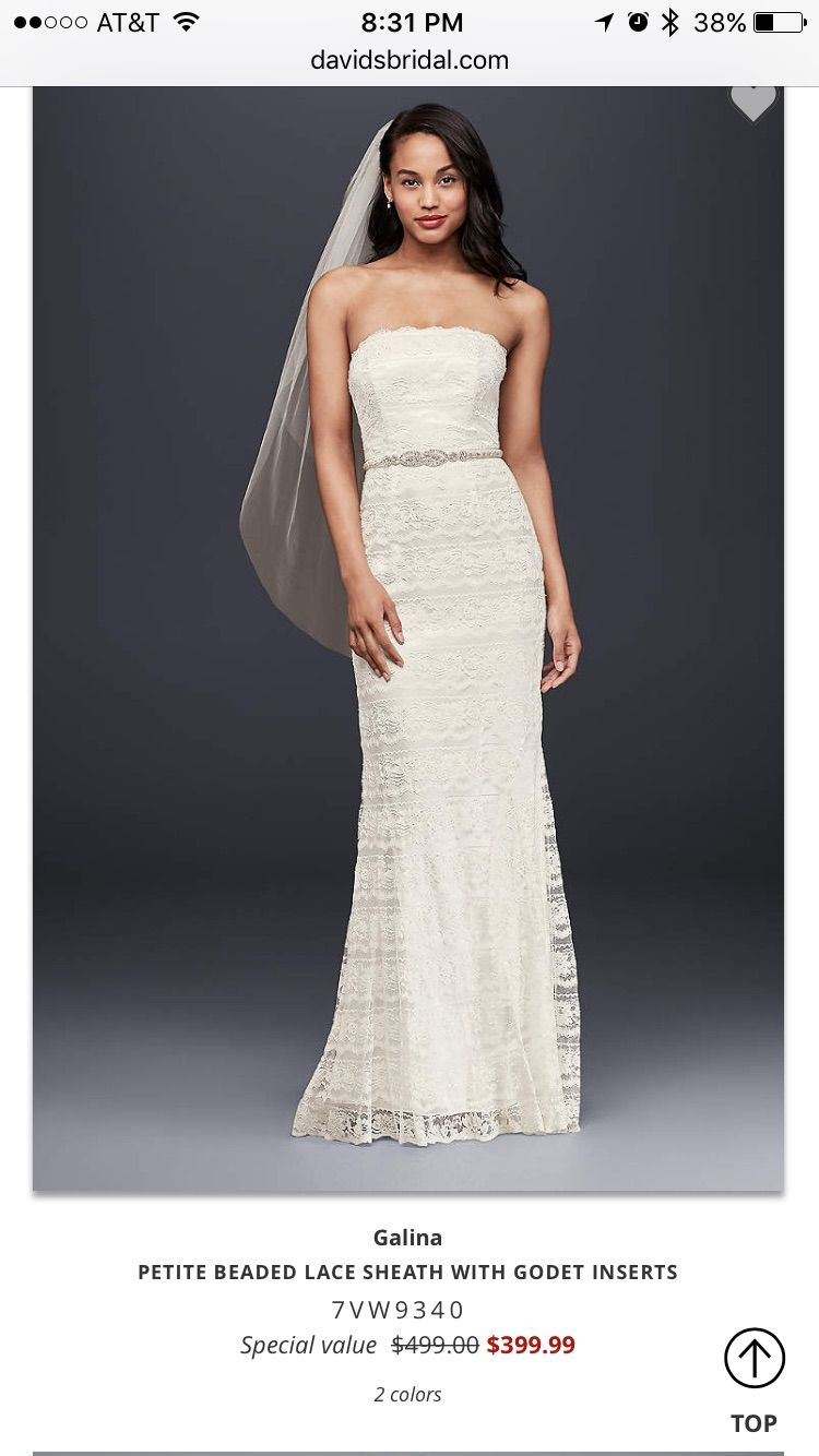 Beaded sheath wedding dress  Pin by Kelly Gouge on dresses  Pinterest