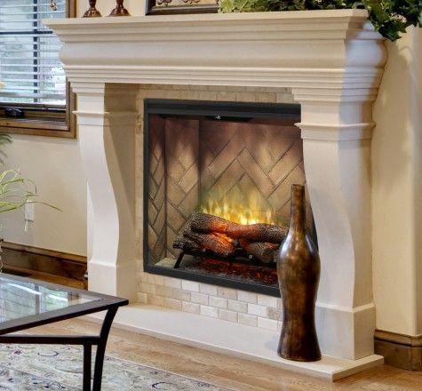 Lovely Pictures Of Electric Fireplaces In Homes
