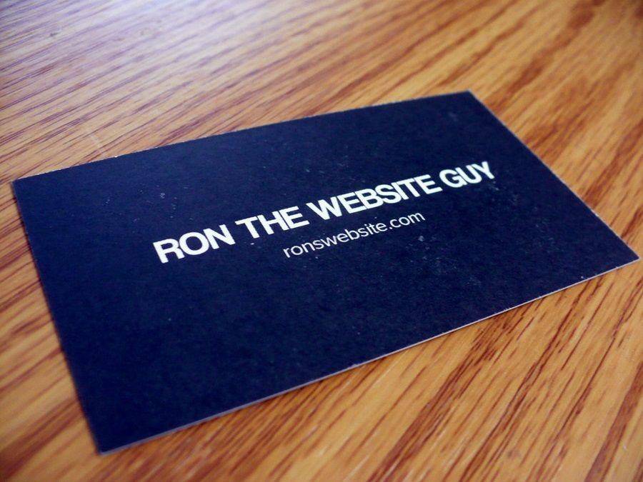 Drucken Sie Visitenkarten In Verbindung Mit Print Business