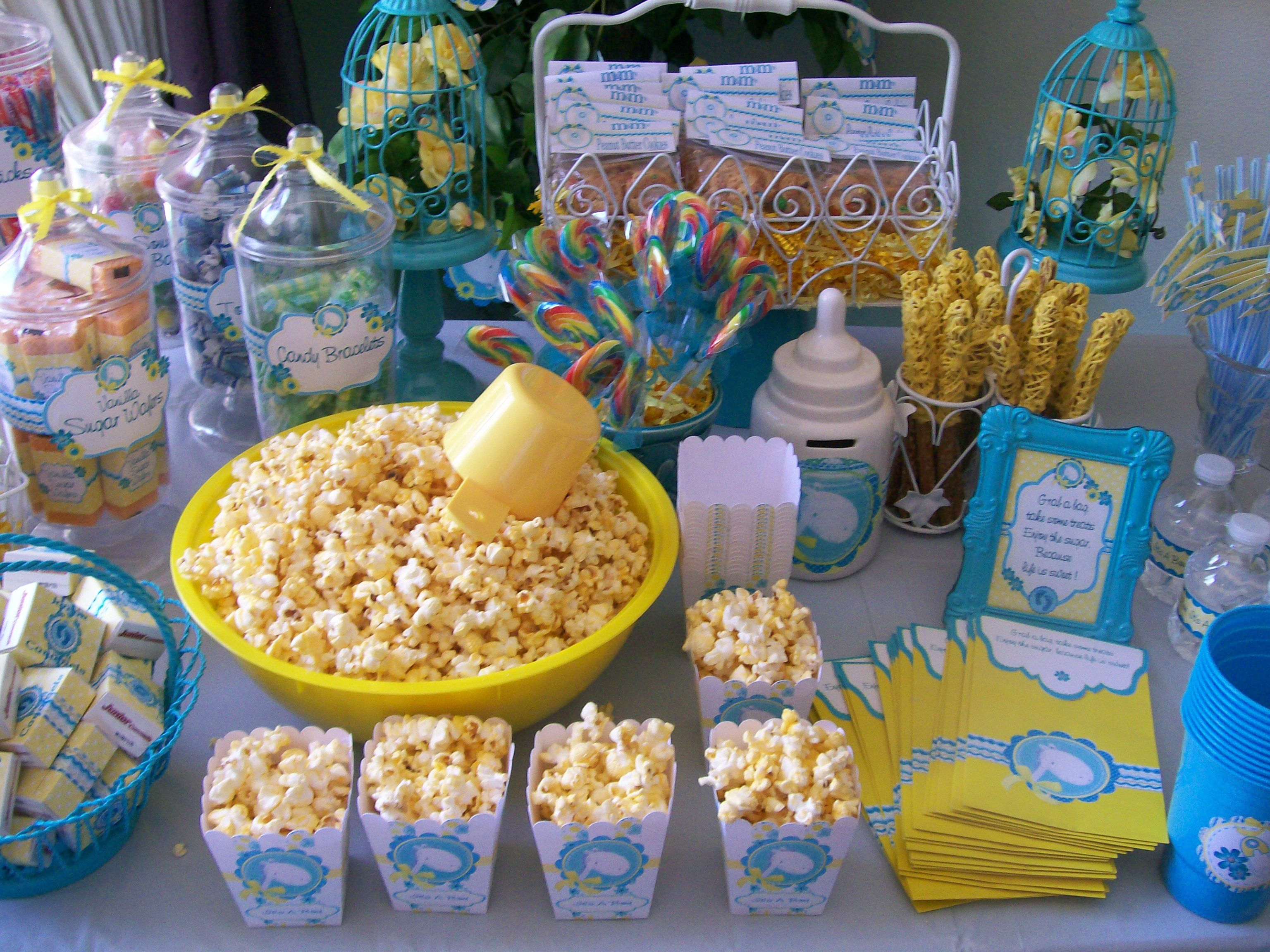Baby Shower: Candy Station | Baby Shower - Ryder ...