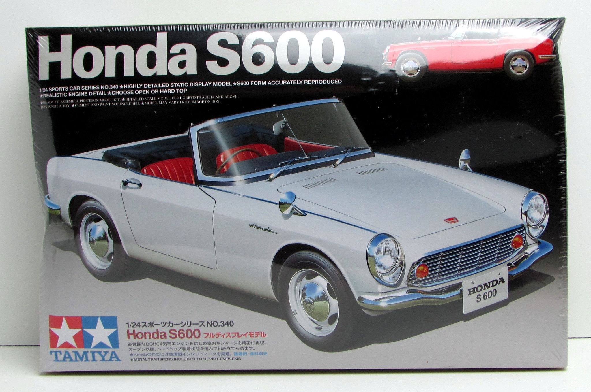 Honda S600 Brand New And Sealed. Tamiya Released This 1/24 Scale Model  Sports
