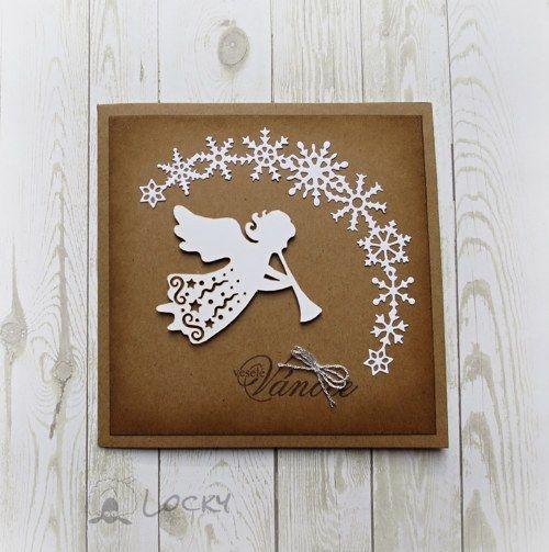 Vánoční přání - Andělíček trubadůr