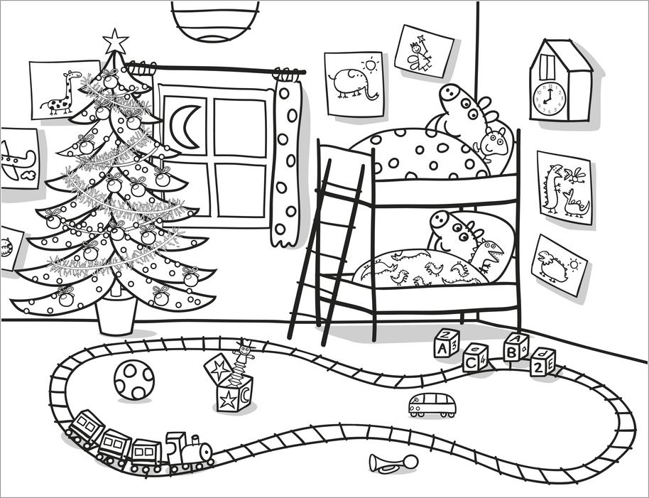 coloriage peppa pig colorier dessin imprimer - Peppa Pig Coloring Book