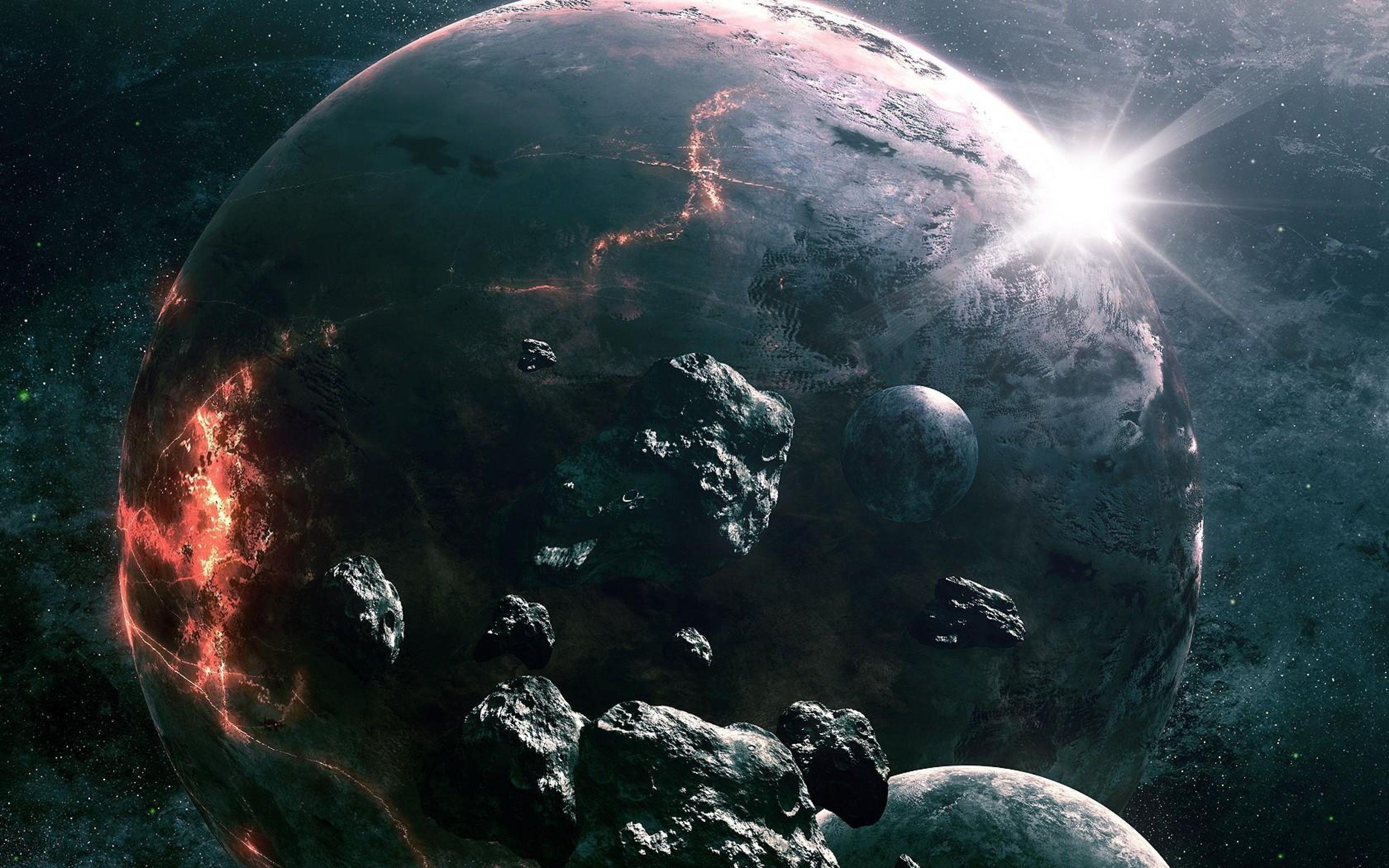 Ultra HD 4K Asteroids Wallpapers HD, Desktop Backgrounds