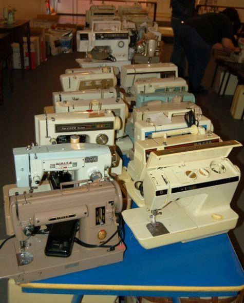 New Life For Used Sewing Machines Sewing Machines Pinterest Custom Used Sewing Machines