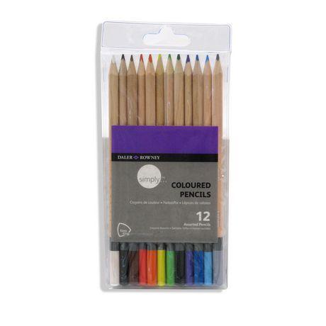 Daler Rowney Simply Coloured Pencils Coloured Pencils Pencil Color