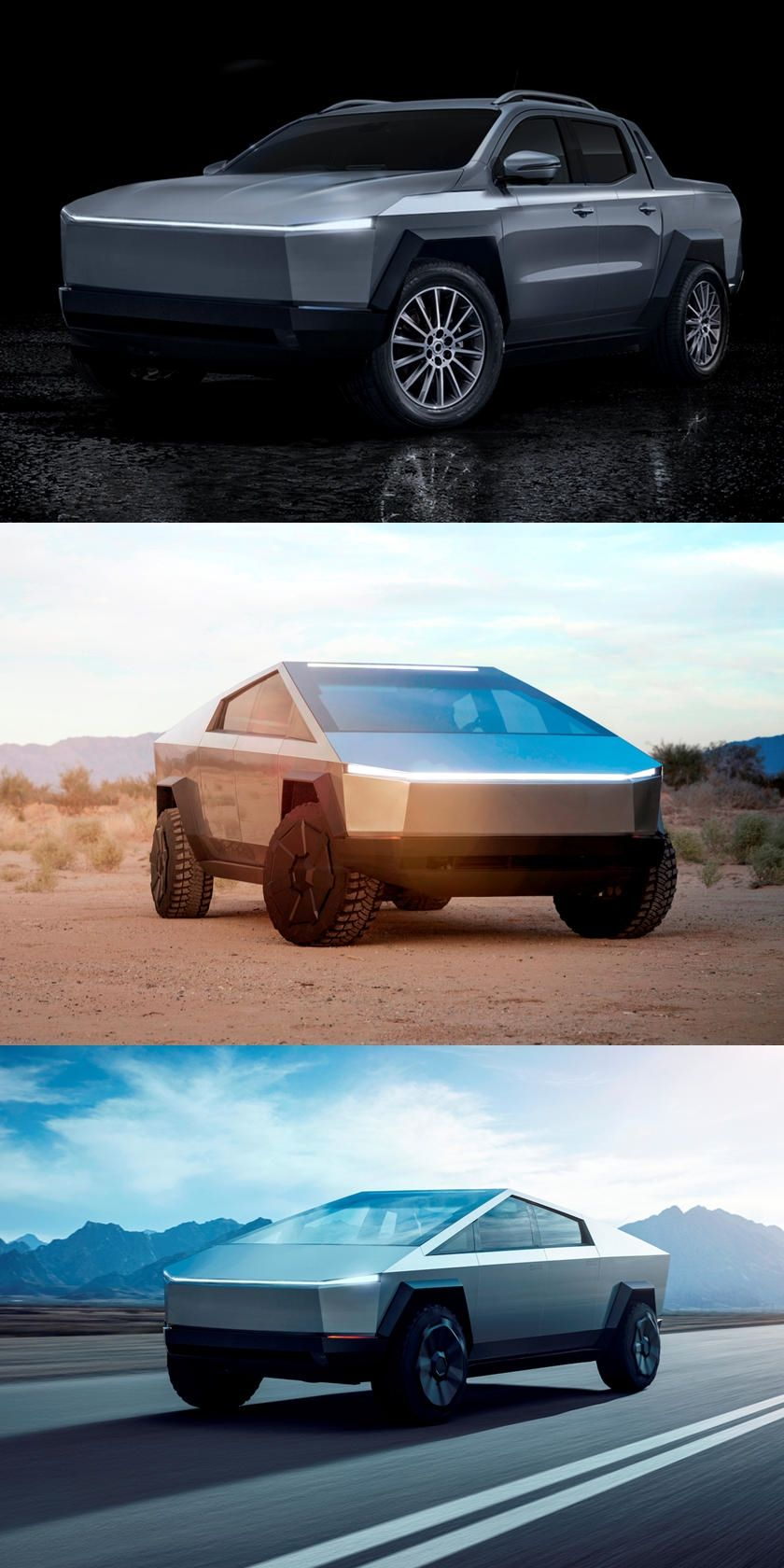 Tesla Cybertruck Is Being Completely Redesigned Safety Concerns Have Prompted Tesla To Rethink The Cybertruck S Design Tesla Electric Pickup Truck Ford Ranger
