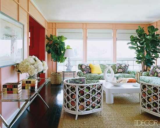 Veronica Beard Elle Decor Living Rooms Pinterest