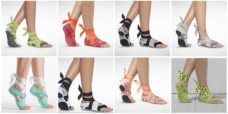 3be799309b35 Nike Studio Wrap Colors Yoga Shoes