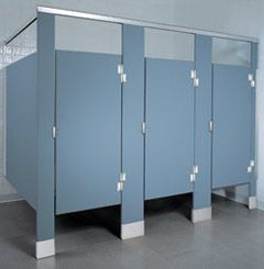 Global Partitions Solid Plastic Bathroom Partitions Toilet Partition Hardware
