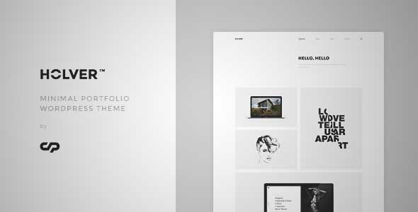 Download and review of Holver - Minimal Portfolio WordPress Theme, one of the best Themeforest Creatives themes {Download & review at|Review and download at} {|-> }http://best-wordpress-theme.net/holver-minimal-portfolio-download-review/