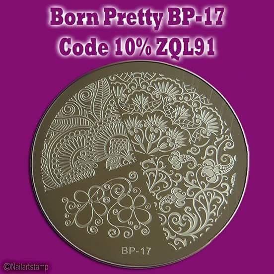Born Pretty BP-17 Colaboración Born Pretty Store Descuento del 10% código: ZQL91  Born Pretty Store: http://ift.tt/UewJf8  Plate Link: http://ift.tt/1OAzeoN  #stamping #nail #nails #nailart #nailstamping #nailartstamping #nailpromote #nailartpromote #nailplates #platestamping #nailartjunkie #nailmail #naillacquer #nailsofinstagram #naildesign #nailpicture #nailpost #nailswag #nailartwow #instanail #platesstamping #uñasstamping #nailaddict #nailartaddicts #nailstagram #bornprettystore…