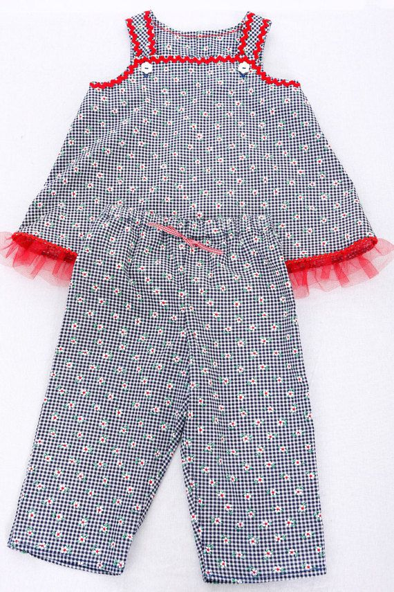 499fde4d753d Childs Pant Set Top and Pants Handmade Pant Set by littledoodles1 ...