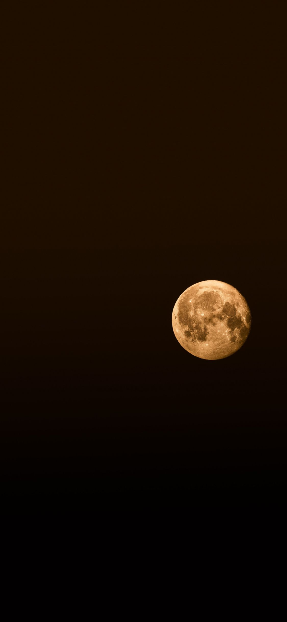 1125x2436 Dark Minimal Full Moon Wallpaper Desktop Wallpaper Art Moon Art Art Wallpaper