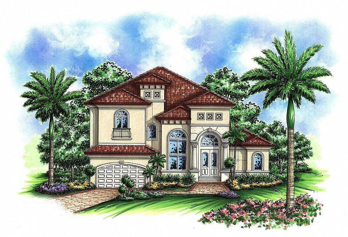 Mediterranean Homes And Plans Mediterraneanhomes Mediterranean Style House Plans Mediterranean House Plans Mediterranean House Plan