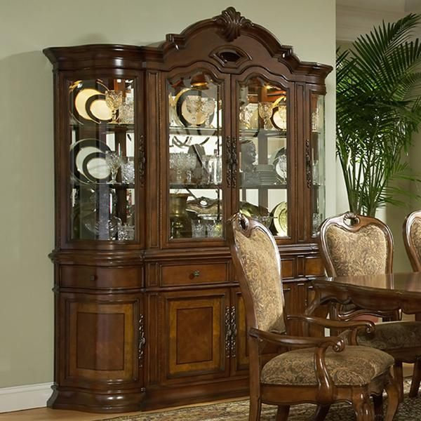 Large China Cabinet | Dining Room | Pinterest | China cabinets ...