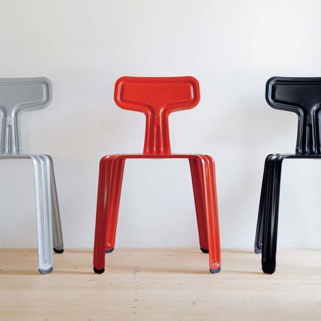 pressed metal furniture. Pressed Metal Chair By Harry Thaler. Not Sure How Comfortable, But Very Cool. Furniture
