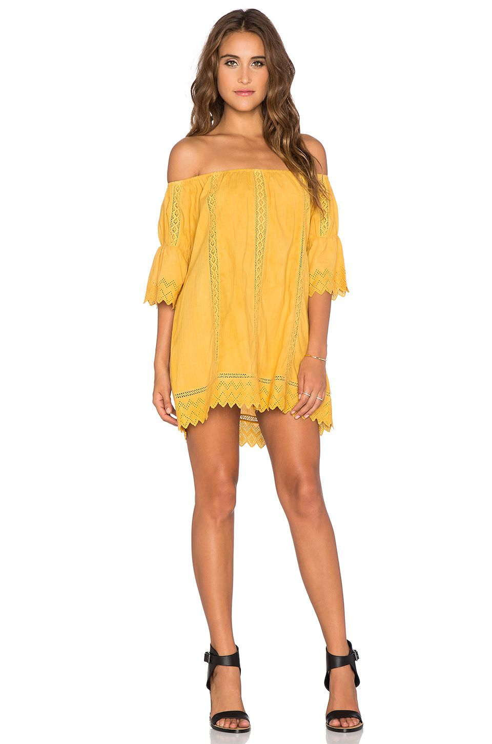Tularosa isabella dress in marigold revolve what to wear
