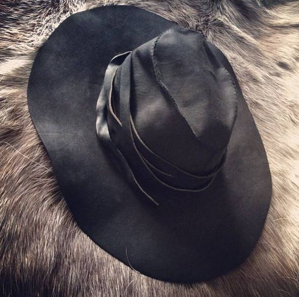 879bae4fc Ann Demeulemeester Leather Hat | .In the Closet | Fashion, Leather ...