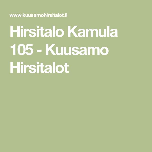 Hirsitalo Kamula 105 - Kuusamo Hirsitalot