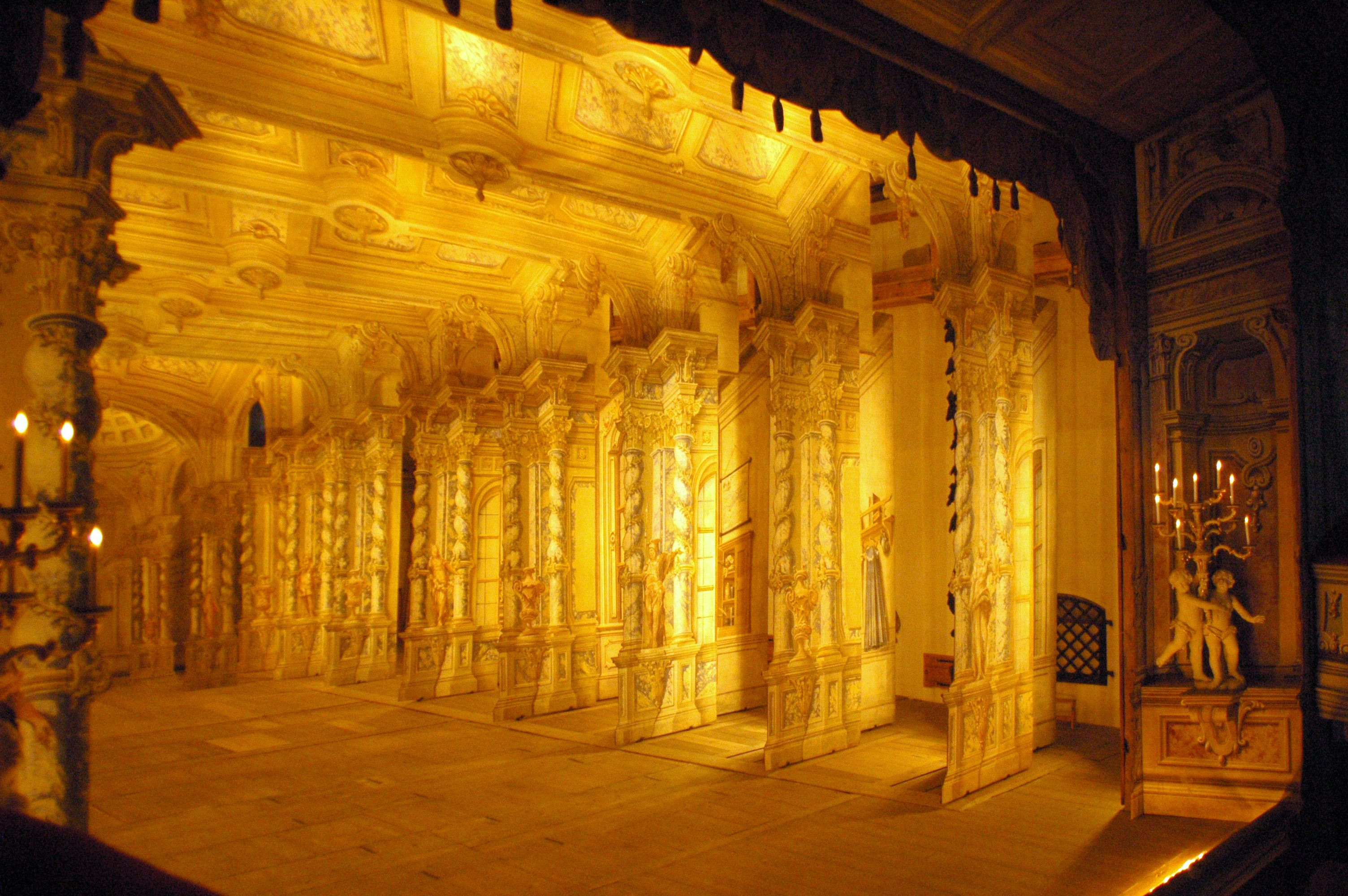 baroque stage lighting Google Search theatre