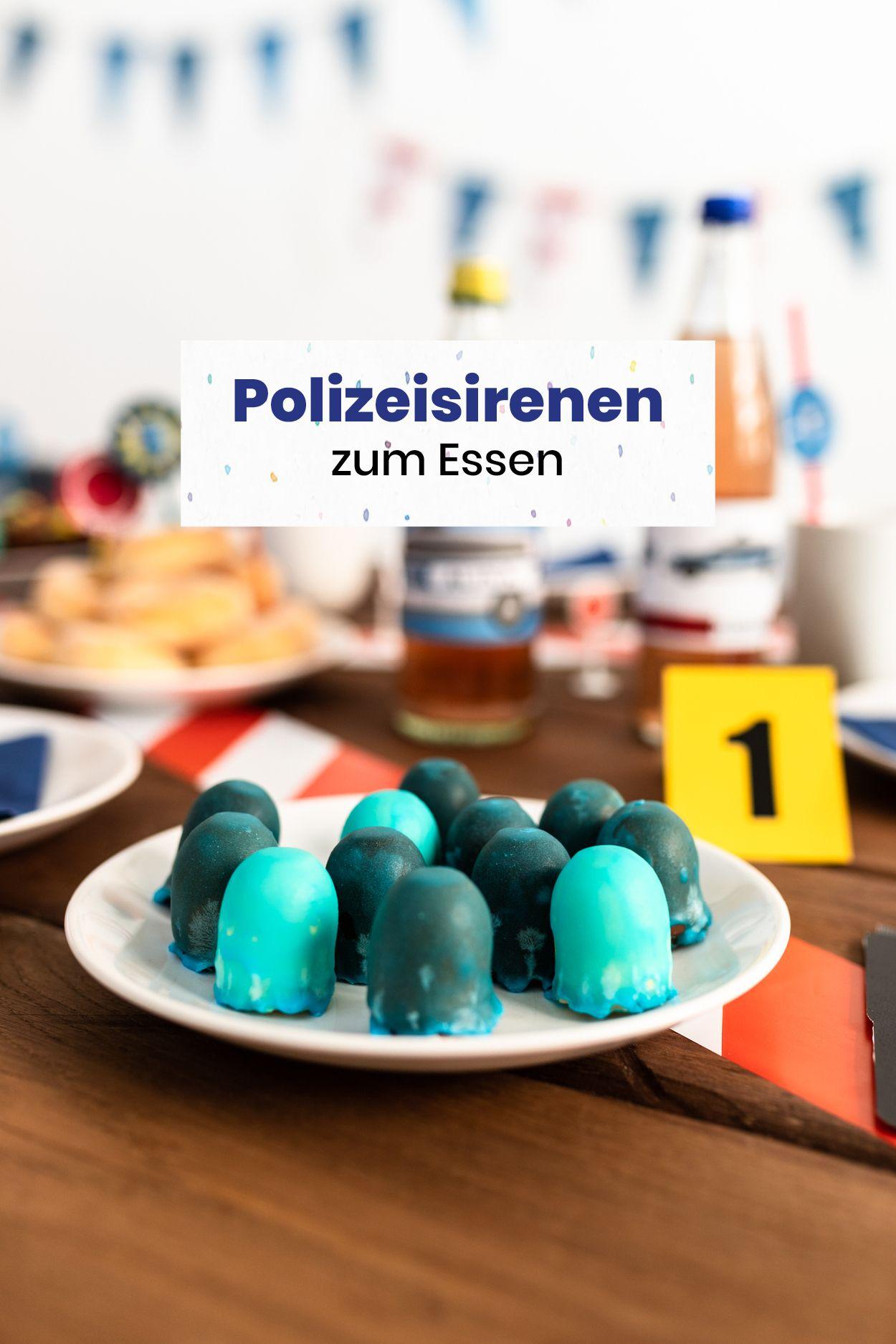 Selber Machen Von Stefanie Wilke In 2020 Polizei Geburtstag