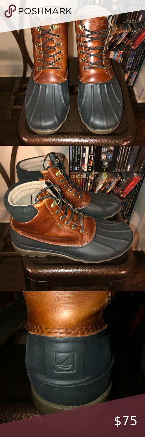 Sherry Topsider Boots Boots Lace Boots Duck Boots [ 1740 x 580 Pixel ]
