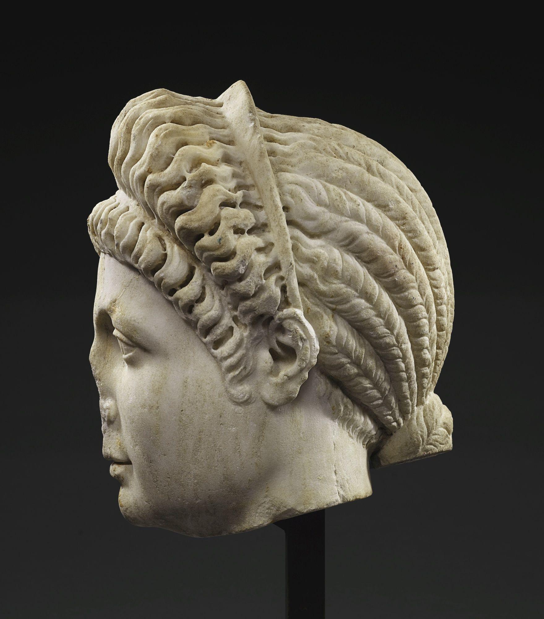 Sencillo y bonito peinados de romana Galería de cortes de pelo tutoriales - Pin de Columba Romana en Peinados de época severa y ...