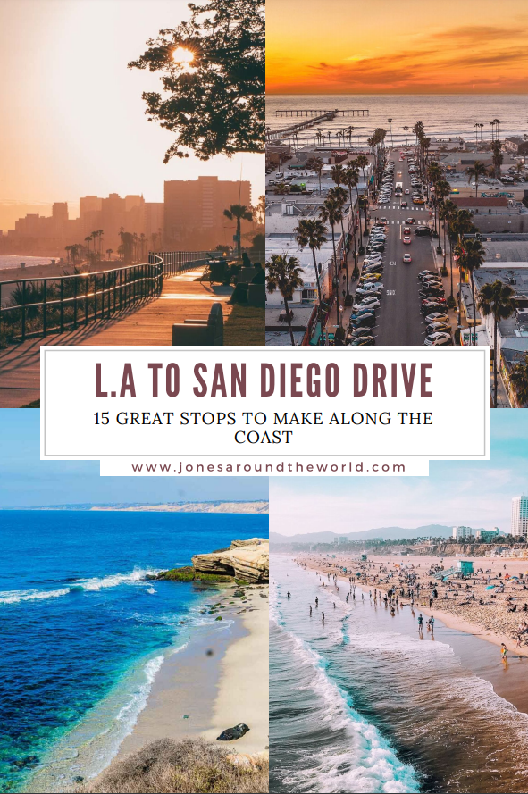 La To San Diego Drive 15 Great Stops To Make Along The Coast In 2020 San Diego Travel California Travel Pacific Beach San Diego