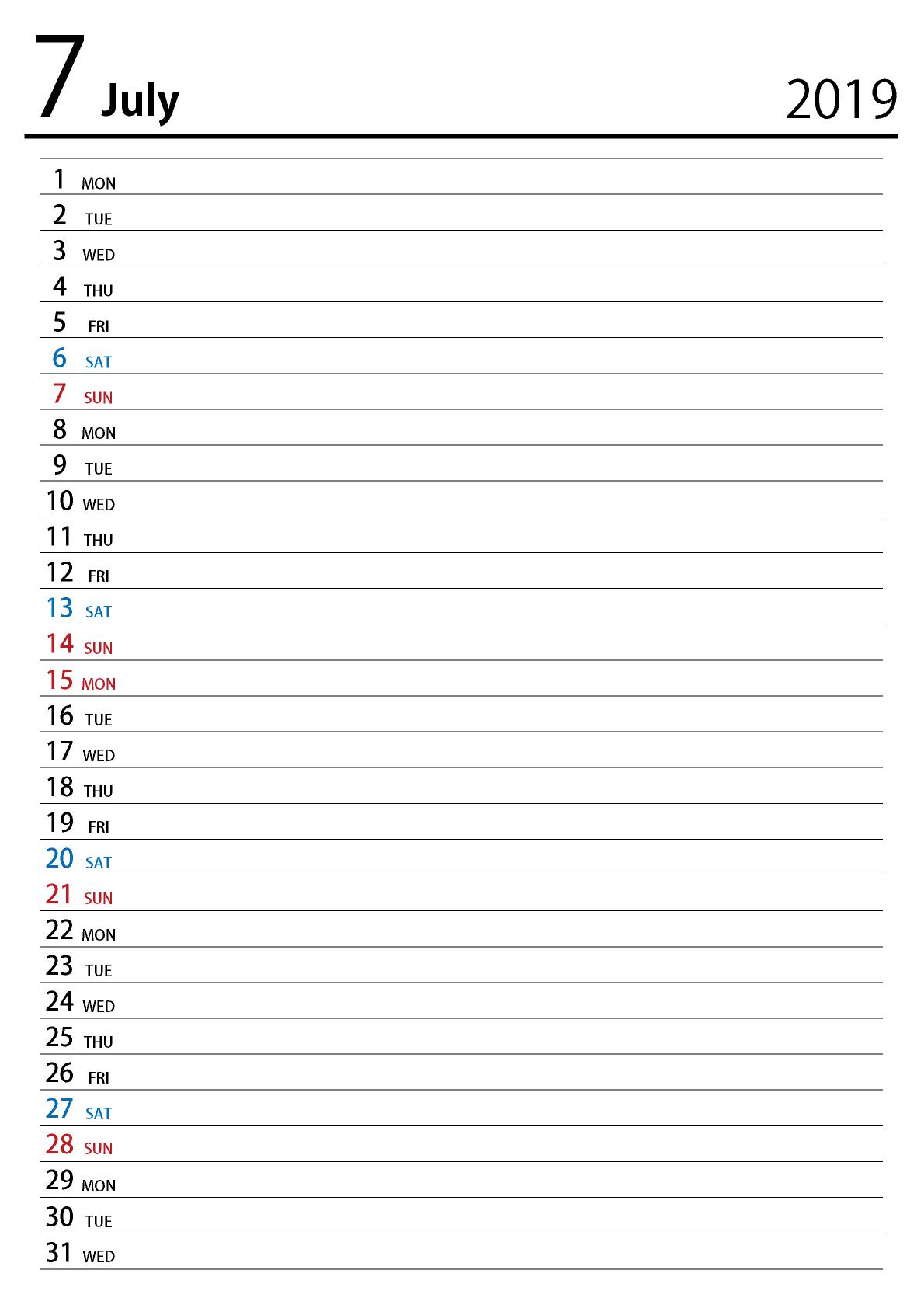 月 2021 カレンダー 5