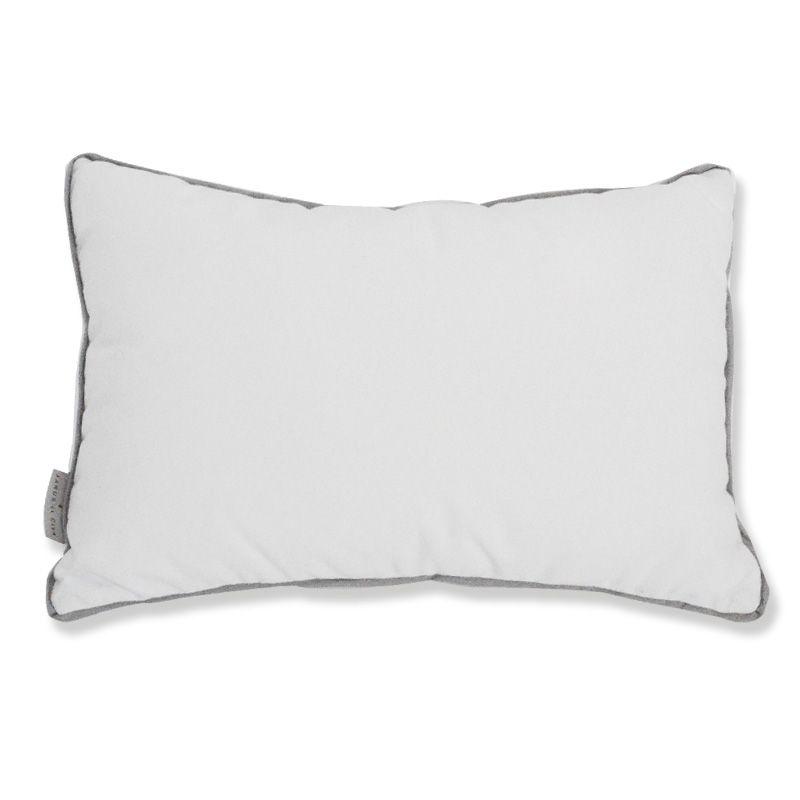 Oxford Indoor/Outdoor Pillow, Blanc