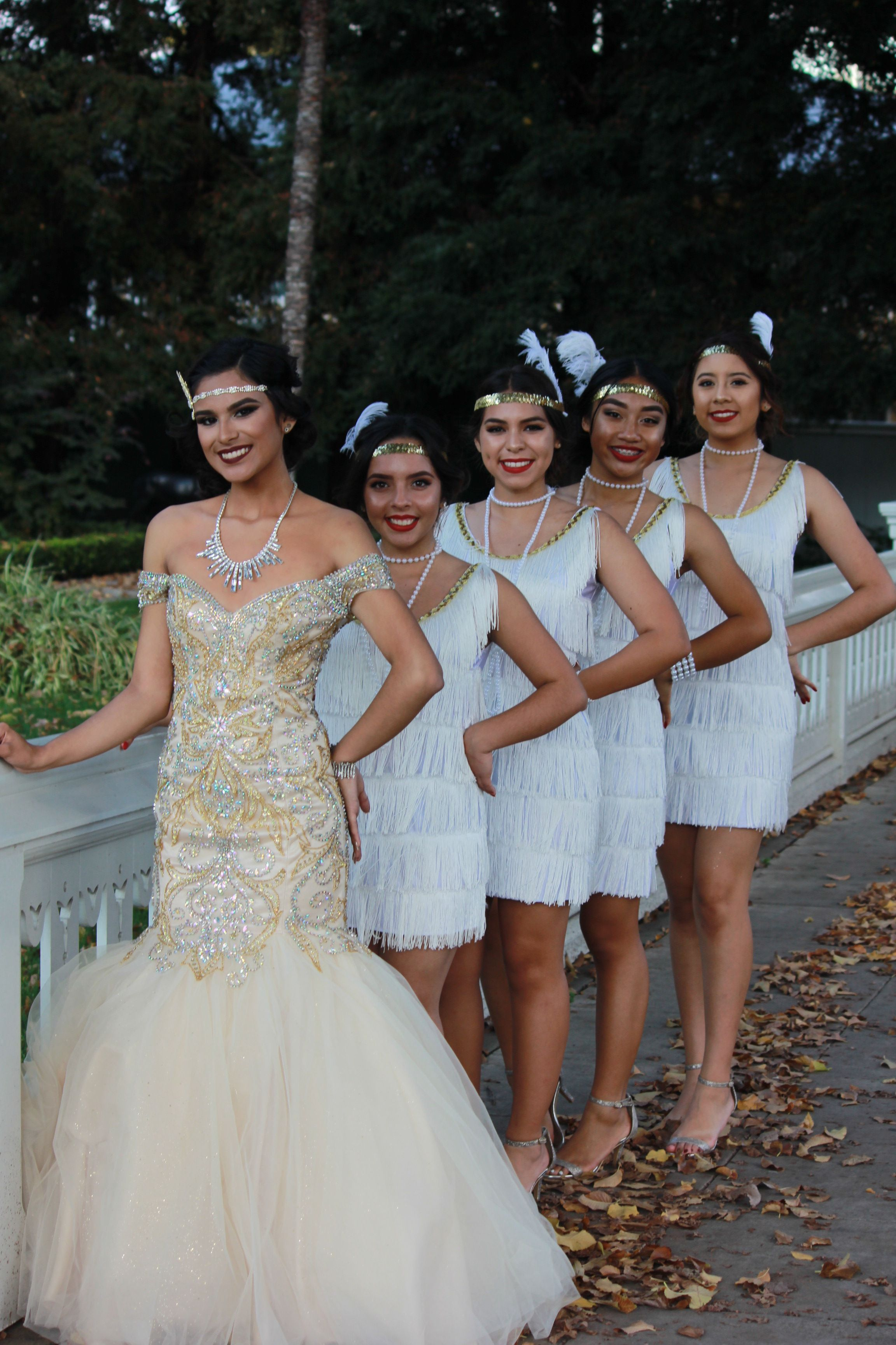 Short Sweet Sixteen Flapper Dresses