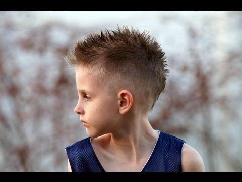 How To Cut A Boys Mohawk Fohawk Hair Cut Tutorial Fauxhawk