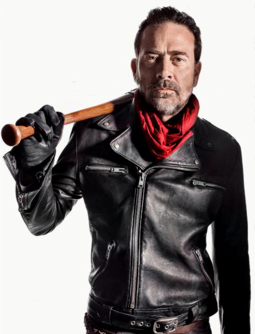 9189e3536 Details about The Walking Dead Negan Jeffrey Dean Morgan Black ...