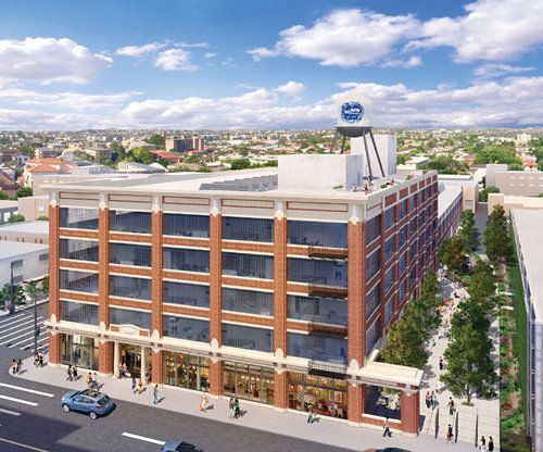 Beautiful Old Ford Factory In The Toy District Becoming Mixed Use