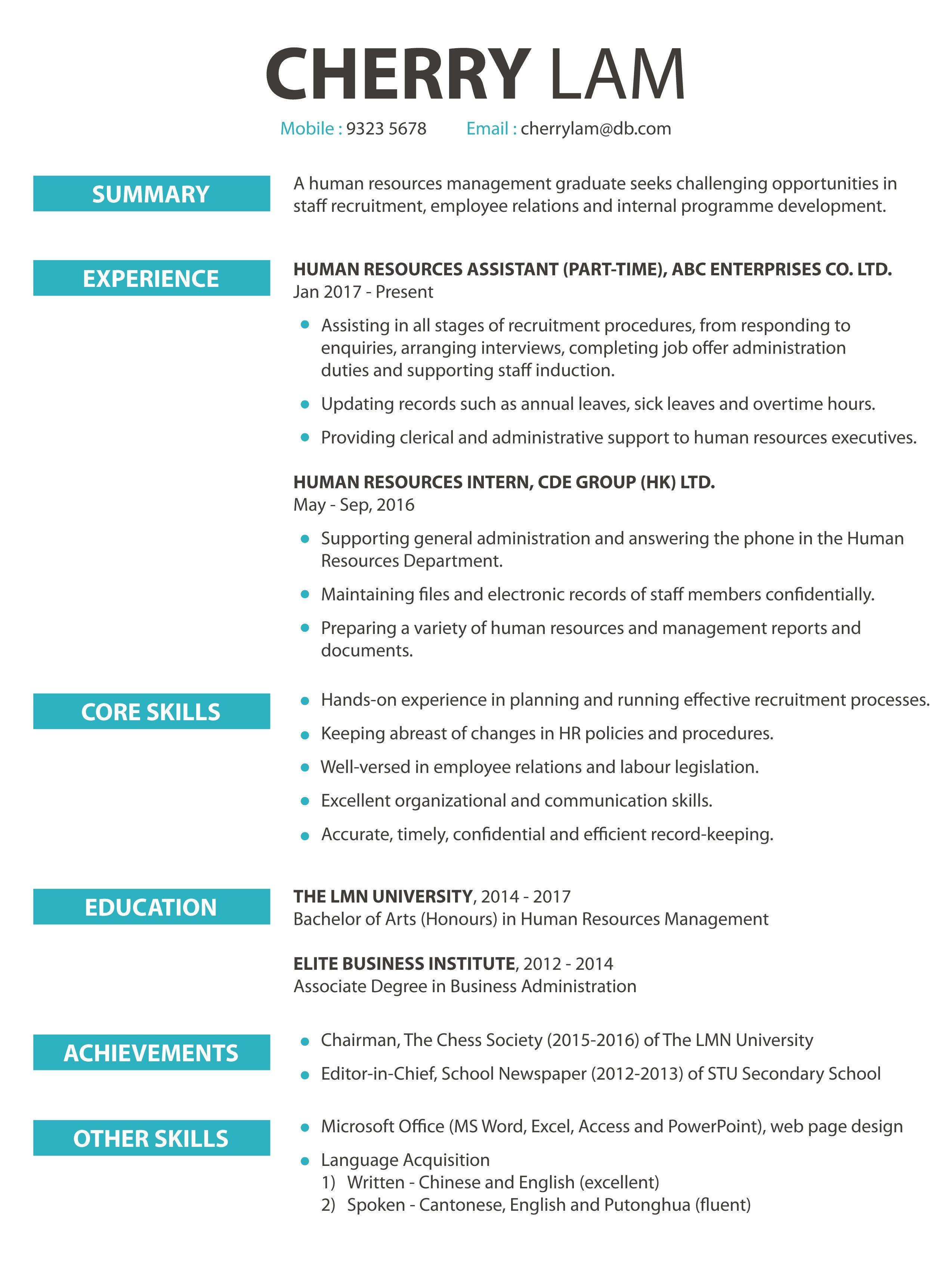 Cover Letter Sample Jobsdb Resume Examples Employee Relations Lettering Cover Letter Sample