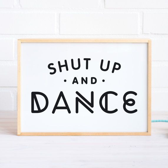 Lightbox with Dance Quote Wooden Light box Lamp by MadeofSundays