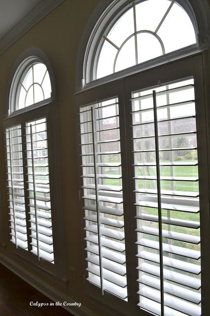 The Clean And Clic Look Of Plantation Shutters Window