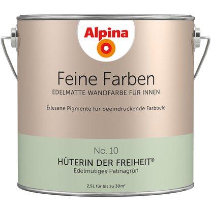 Alpina Feine Farben No 10 Huterin Der Freiheit Edelmatt 2 5 Liter Kaufen Bei Obi In 2020 Feine Farben Alpina Wandfarbe Alpina Farben