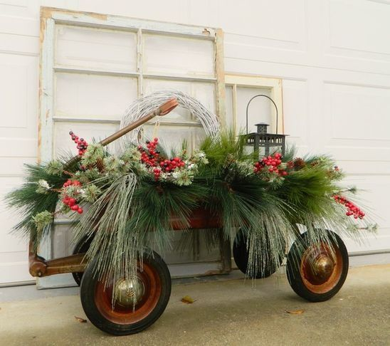 Country Outdoor Decorations Visit Houzz Com Outdoor Holiday