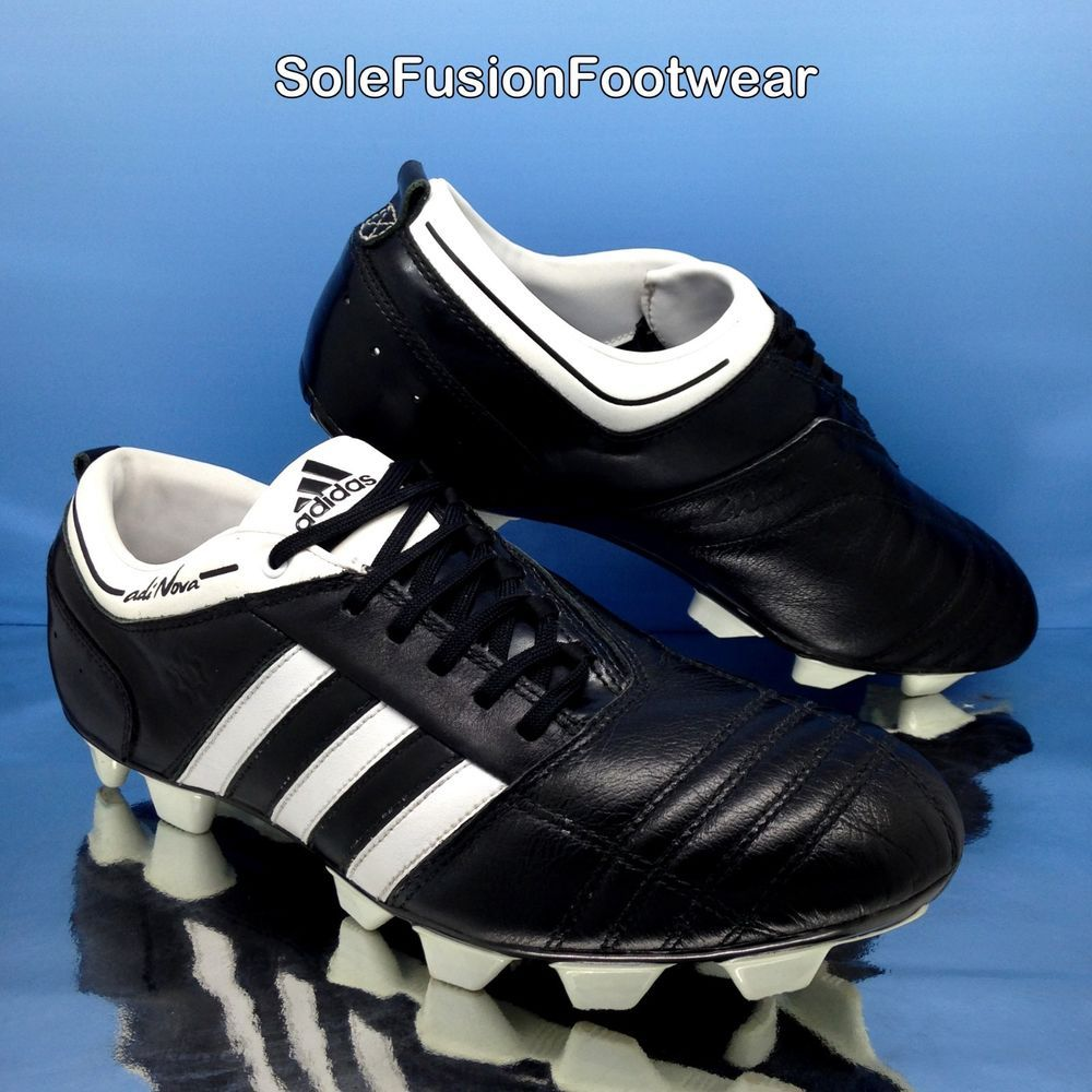 hot sale online 6dbbd cb3d8 adidas Mens AdiNova Football Boots Black sz 9 TRX Soccer Cleats US 9.5 EU  43 1 3   eBay